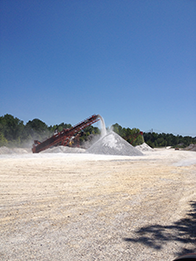 WinnRock, LLC Stone Crushing Process